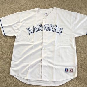 MLB Texas rangers replica jersey
